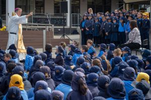 St Christopher's Catholic Primary School Panania celebrated the feast day of Australia's early